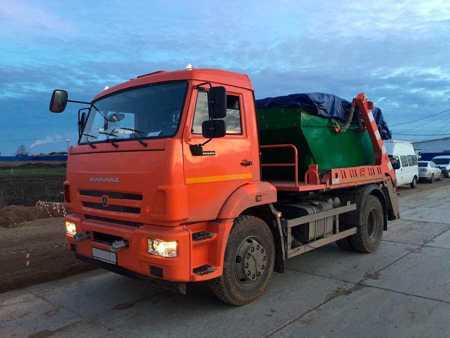 КАМАЗ - мусоровоз
