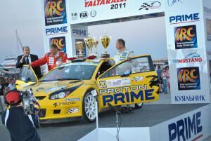 этап IRC Prime Yalta Rally
